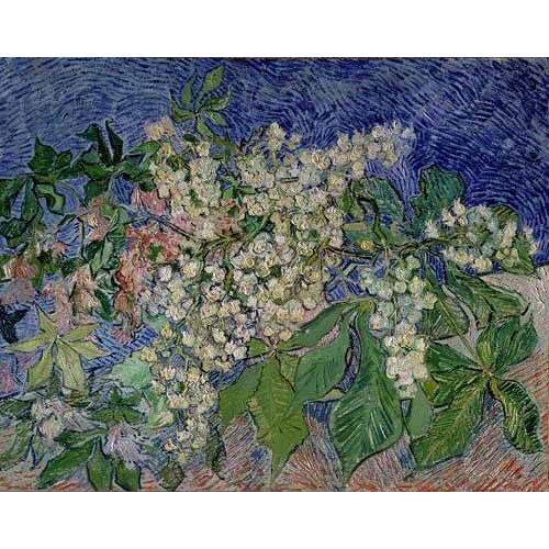 Quadro -Ramas de castaño en flor-