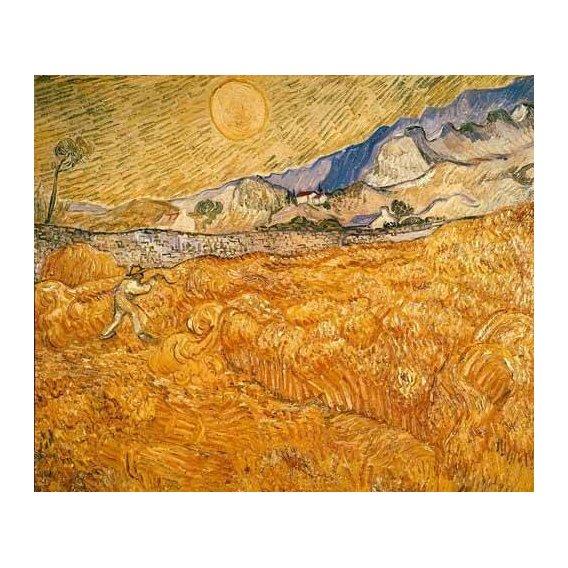 pinturas de paisagens - Quadro -El segador-