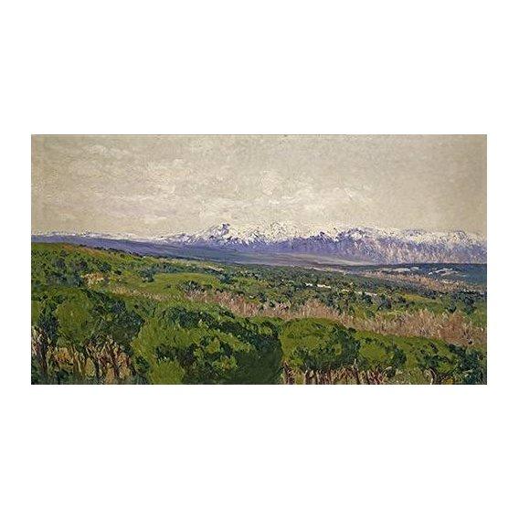 pinturas de paisagens - Quadro -Guadarrama - Madrid-