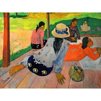 - Quadro -La siesta- - Gauguin, Paul