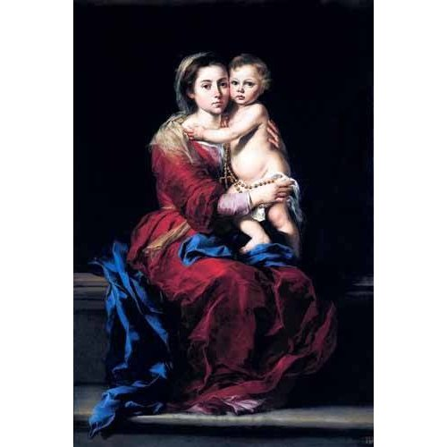 Quadro -La Virgen del Rosario-