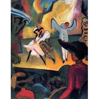 - Quadro -Ballet ruso- - Macke, August