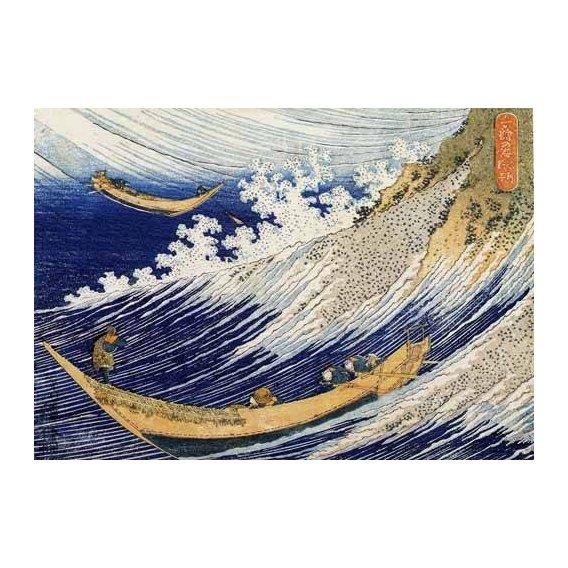 ethnic and oriental paintings - Picture -Olas en el oceano-