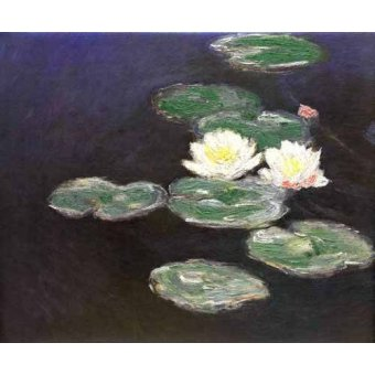 - Quadro -Nympheas (Waterlilies)- - Monet, Claude
