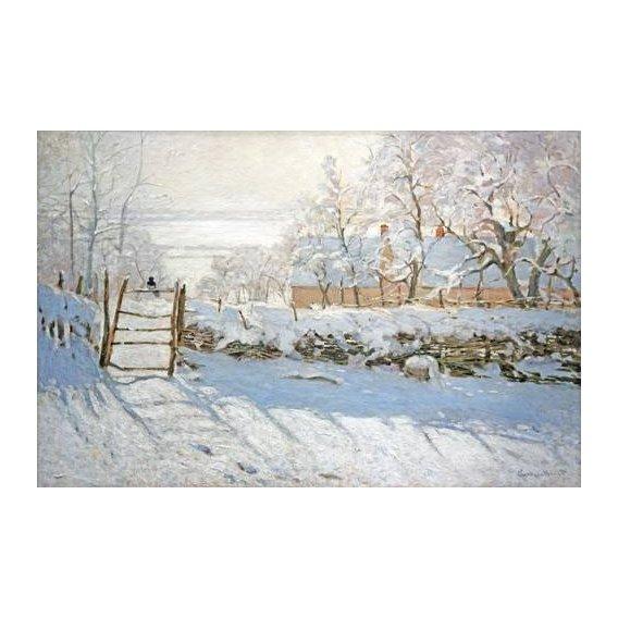 pinturas de paisagens - Quadro -La urraca-