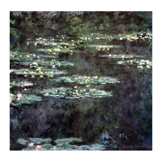 pinturas de paisagens - Quadro -Nenúfares (Water Lilies), 1904-