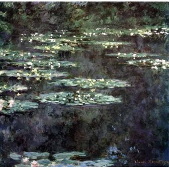 - Quadro -Nenúfares (Water Lilies), 1904- - Monet, Claude