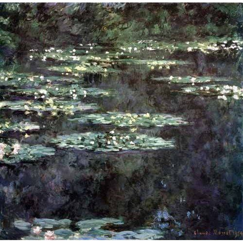 Quadro -Nenúfares (Water Lilies), 1904-