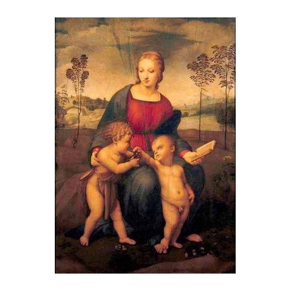 imagens religiosas - Quadro -La Virgen del Jilguero-