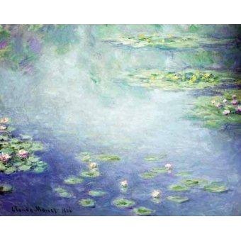 - Quadro -Nenúfares- - Monet, Claude