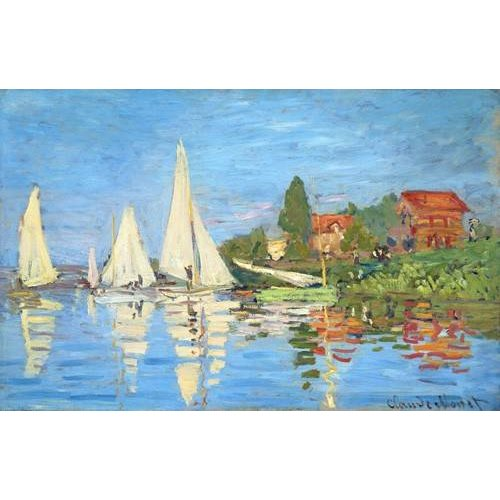 Quadro -La regata en Argenteuil-