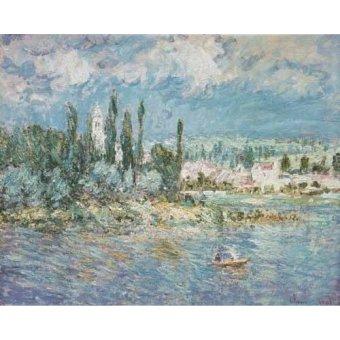 quadros de paisagens marinhas - Quadro -Thunderstorms- - Monet, Claude