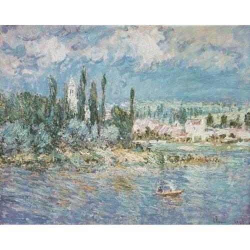 pinturas de paisagens marinhas - Quadro -Thunderstorms-