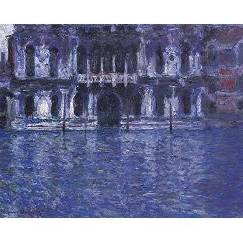 pinturas de paisagens - Quadro -El Palazzo Contarini-