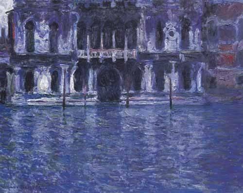 quadros-de-paisagens - Quadro -El Palazzo Contarini- - Monet, Claude