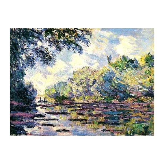 pinturas de paisagens - Quadro -El Sena, cerca de Giverny-