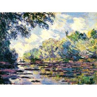 - Quadro -El Sena, cerca de Giverny- - Monet, Claude