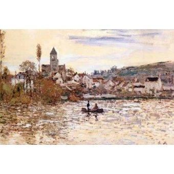 - Quadro -El Sena en Vetheuil- - Monet, Claude