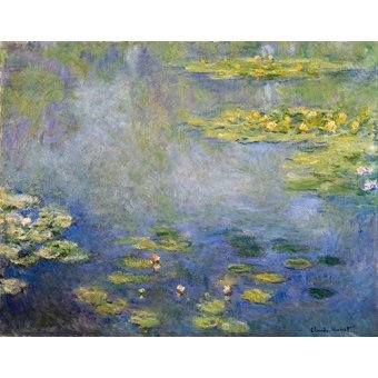 - Quadro -Nenufares, Giverny- - Monet, Claude