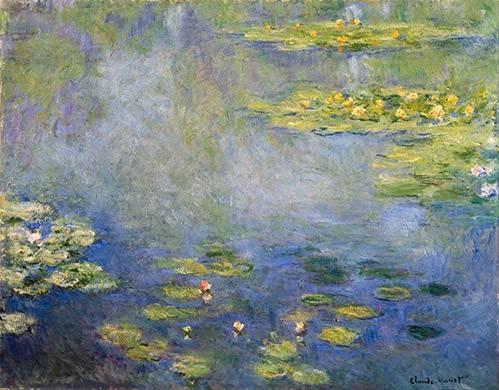 quadros-de-paisagens - Quadro -Nenufares, Giverny- - Monet, Claude