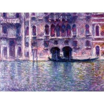 - Quadro -El Palazzo de Mula, Venecia, 1908- - Monet, Claude