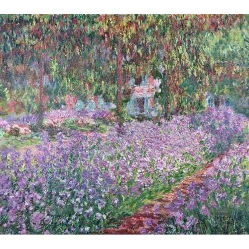 Quadro -El jardin del artista en Giverny-