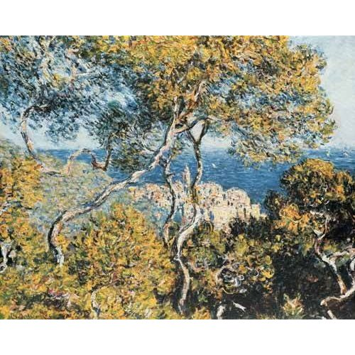 pinturas de paisagens - Quadro -Bordighera, 1884-