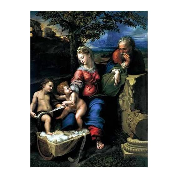cuadros religiosos - Cuadro -La Sagrada Familia del Roble-