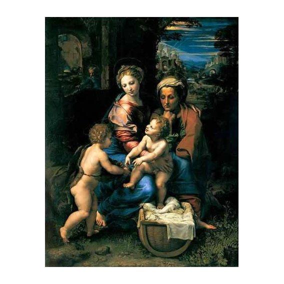 cuadros religiosos - Cuadro -La Sagrada Familia de la Perla-