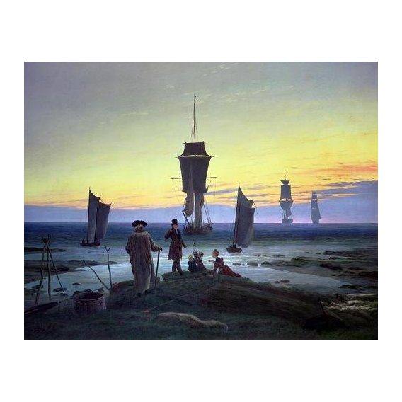 pinturas de paisagens marinhas - Quadro -The Stages of Life, 1835-