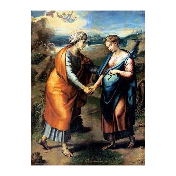 religious paintings - Picture -La Visitación-