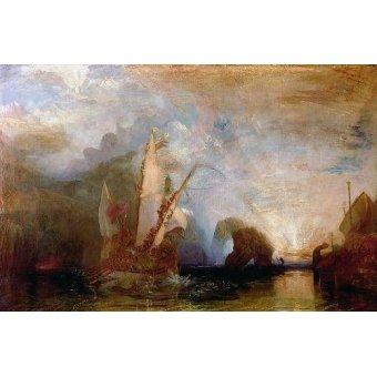 - Quadro -Ulisses Deriding Polyphemus, 1829- - Turner, Joseph M. William