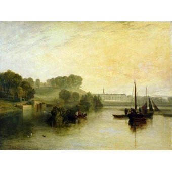 Quadro -Petworth, Sussex, The Sea of the Earl of Egremont-