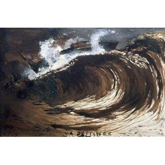 quadros de paisagens marinhas - Quadro -My Destiny- - Hugo, Victor