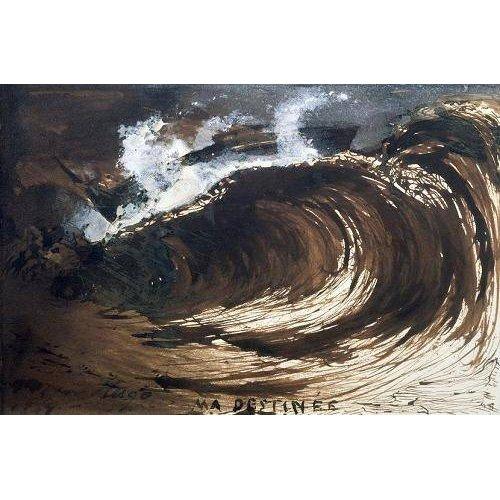 pinturas de paisagens marinhas - Quadro -My Destiny-
