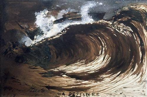 quadros-de-paisagens-marinhas - Quadro -My Destiny- - Hugo, Victor