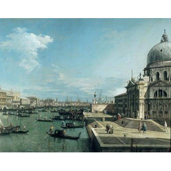 - Quadro -The Entrance to the Grand Canal, Venice- - Canaletto, Giovanni A. Canal