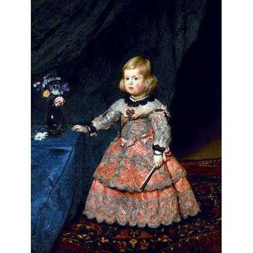 Quadro -Retrato de la Infanta Margarita a la edad de tres años-