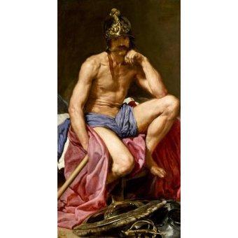 - Quadro -El dios Marte- - Velazquez, Diego de Silva