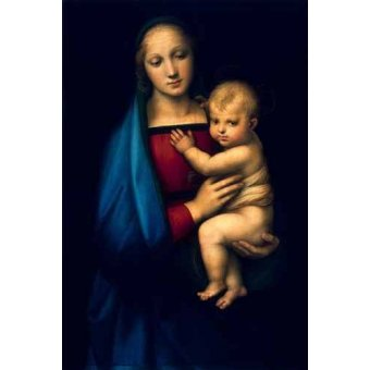 quadros religiosos - Quadro -Madonna del Granduca- - Rafael, Sanzio da Urbino Raffael