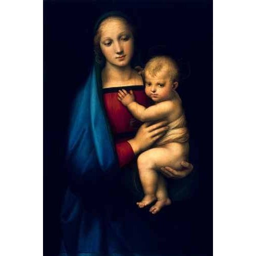 religious paintings - Picture -Madonna del Granduca-