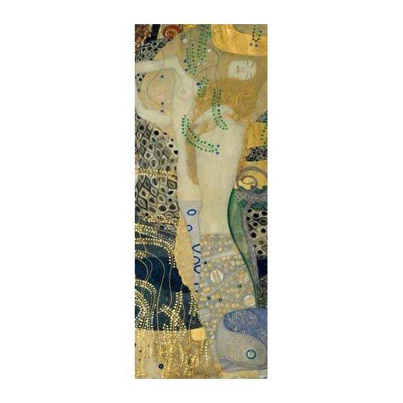 pinturas do retrato - Quadro -Serpientes de agua-