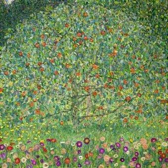 landscapes - Picture -El manzano, 1912- - Klimt, Gustav