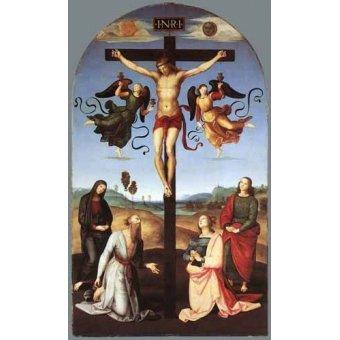 quadros religiosos - Quadro -Crucifixion- - Rafael, Sanzio da Urbino Raffael
