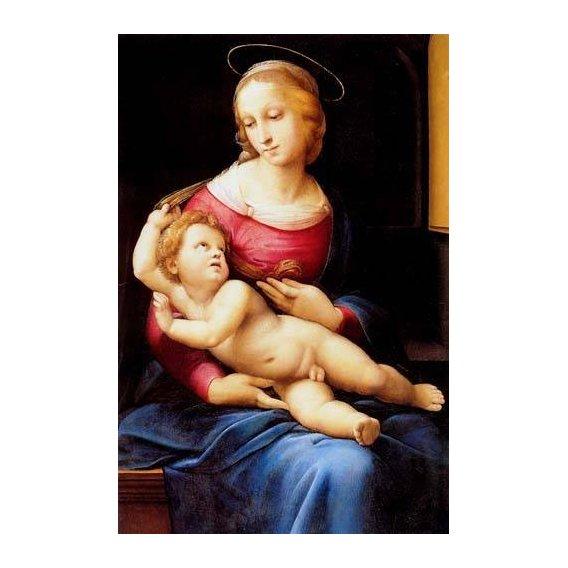 imagens religiosas - Quadro -The bridgewater Madonna-