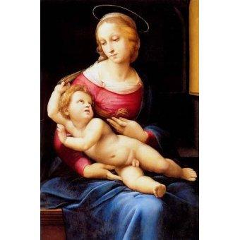 quadros religiosos - Quadro -The bridgewater Madonna- - Rafael, Sanzio da Urbino Raffael