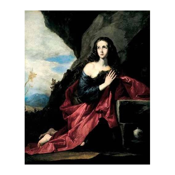 religious paintings - Picture -Maria Magdalena, Penitente-