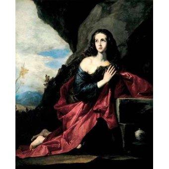 quadros religiosos - Quadro -Maria Magdalena Penitent- - Ribera, Jose de