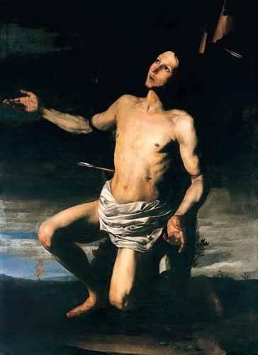 cuadros religiosos - Cuadro -San Sebastián- - Ribera, Jose de