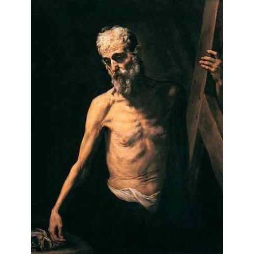 imagens religiosas - Quadro -San Andrés-